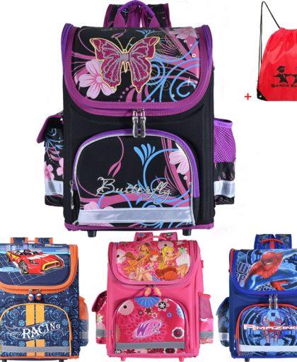 Winx School Bag Orthopedic Girls
