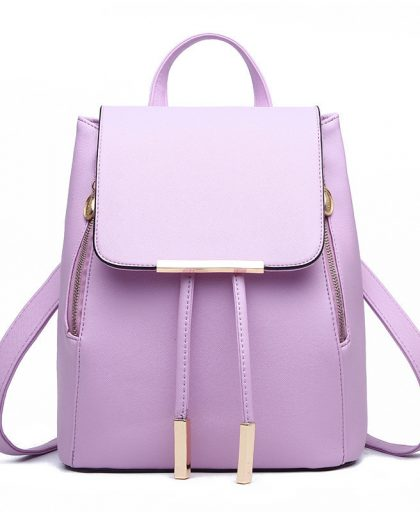 Fashion Leather Backpack School Bags 08