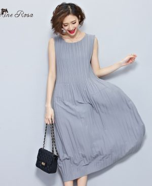 Women's Summer Dresses Draped Dress