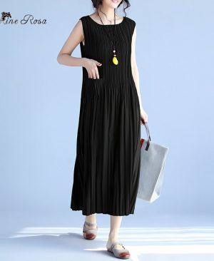 Women's Summer Dresses Draped Dress