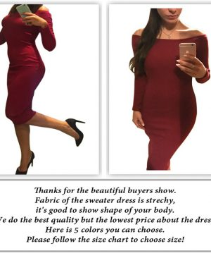 Bodycon Knitted Sweater