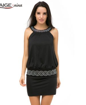 Casual Dress Sleeveless Slim Fashion Bodycon