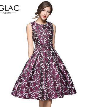 Spring women dress Fashion Elegant