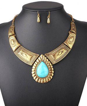 Women Necklace Vintage Statement Necklaces Pendants