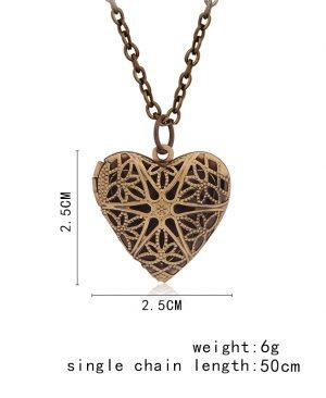 Locket Necklace Pendant