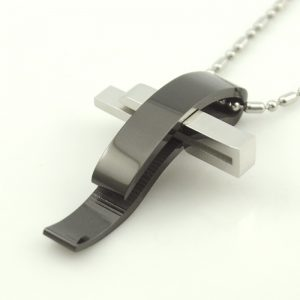 Steel Pendant Necklace