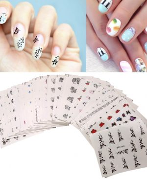 Flower Nail Stickers Decorations