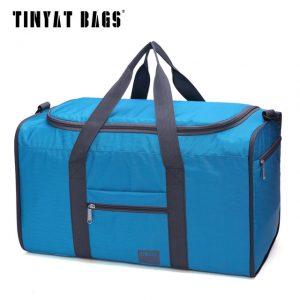 Men Travel Bag Folding Bag Portable Molle