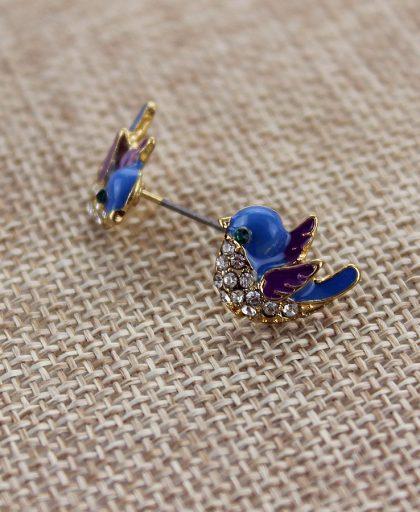 Fashion stud earrings single