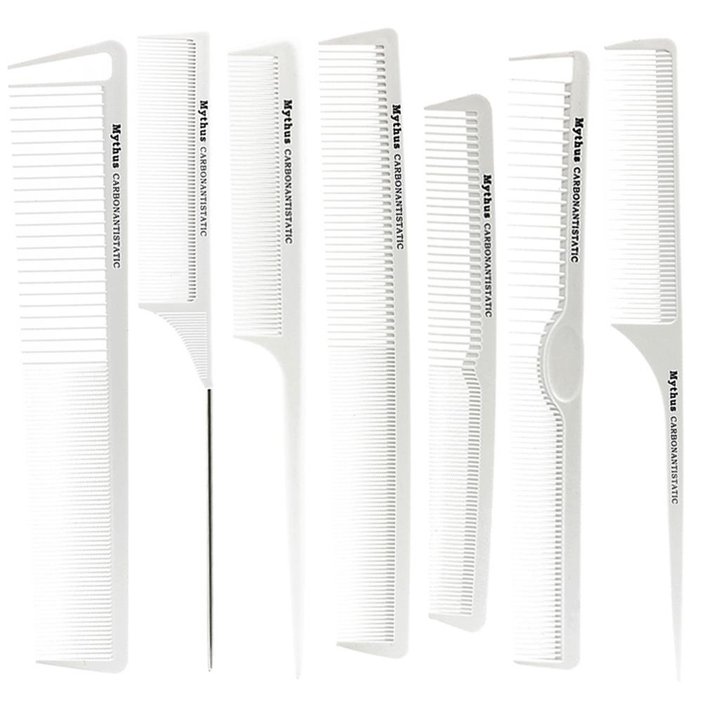 Heat Resistant Hair Cutting Comb Set