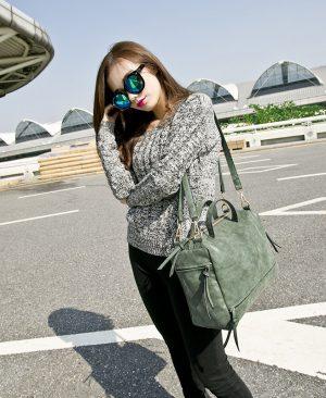 Women Shoulder Bag Leather