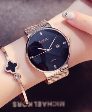 Fashion Ladies Watches Rose Gold
