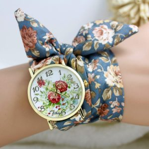 cloth wrist watch 10