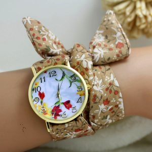 cloth wrist watch 09