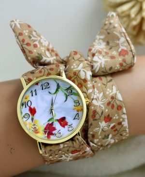 cloth wrist watch 09