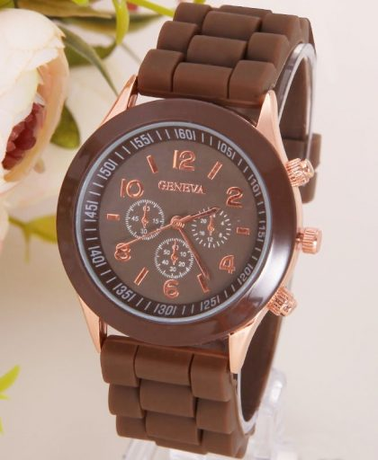 Classic Silicone Women Watch 04
