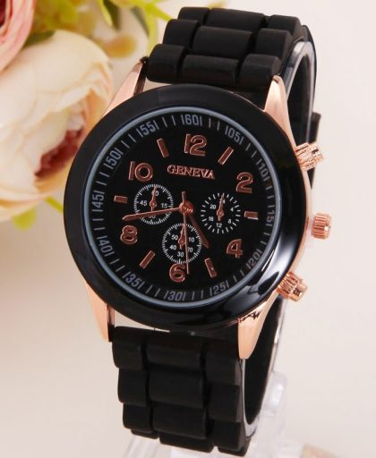 Classic Silicone Women Watch 02