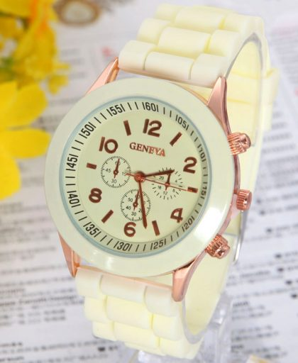 Classic Silicone Women Watch