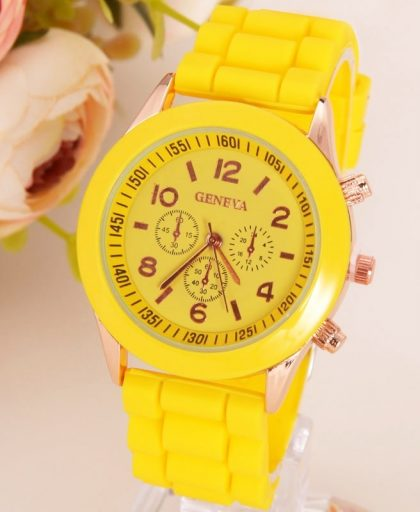 Classic Silicone Women Watch 12