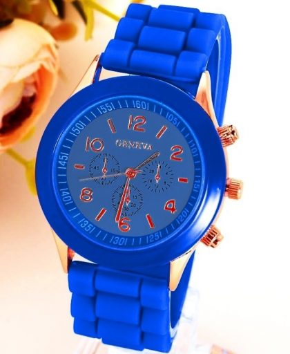 Classic Silicone Women Watch 03