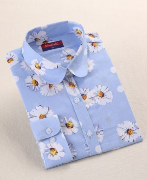 Summer Flower Blouses Shirts 02