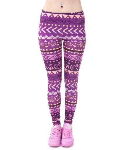 Women Fashion Legging Printed 04