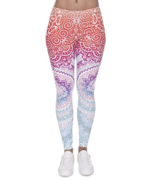 Women Fashion Legging Printed 01