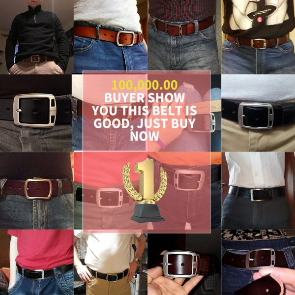 Leather Belts Buckle
