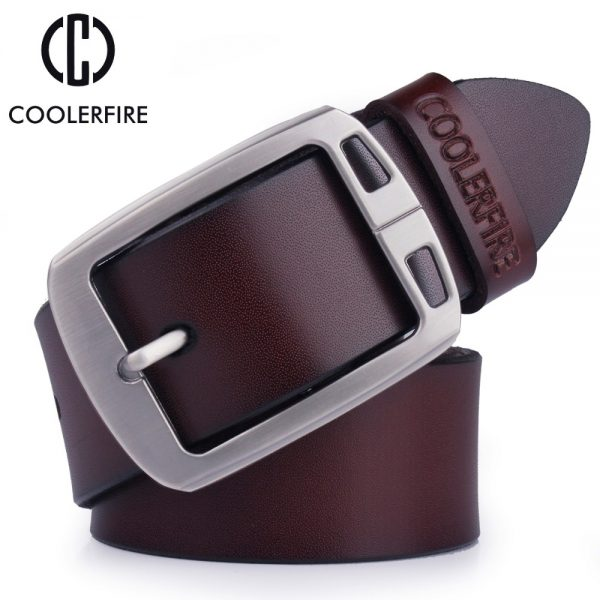 100% cowhide genuine leather belts