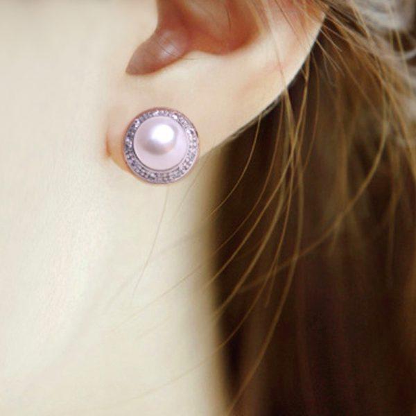 Fashion pearl Jewelry stud earrings