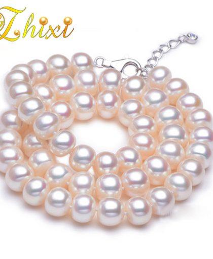 Pearl choker necklace fine jewelry