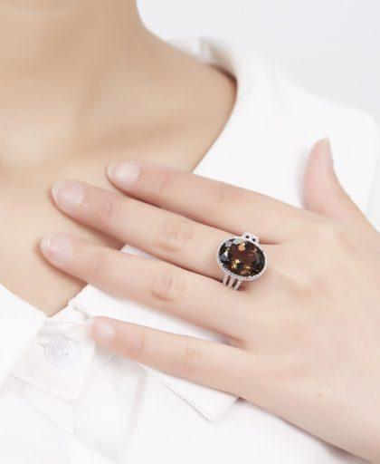 Cocktail Ring Gemstone Fine Jewelry