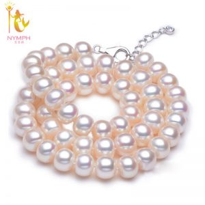 Freshwater Pearl Necklace Choker Necklace