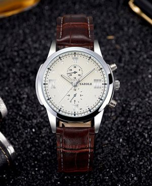 Business Wrist Watch Male Clock Quartz