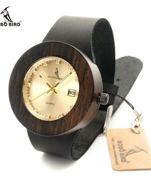 Women Wood Watches Leather Strap