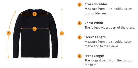 How to Measure Shirts