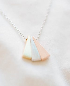 Triangle Necklaces