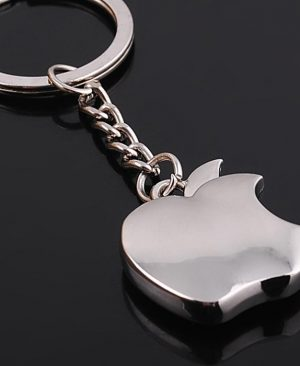 Metal Apple Key Chain