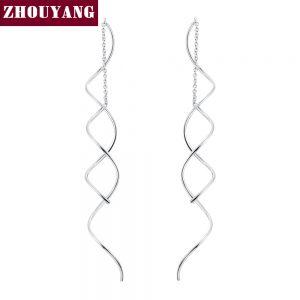 Spiral Ear Line Earring