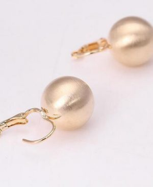 Ball Shape Stud Earrings Jewelry