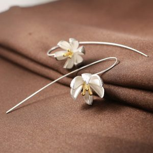 Silver Earring Fashion