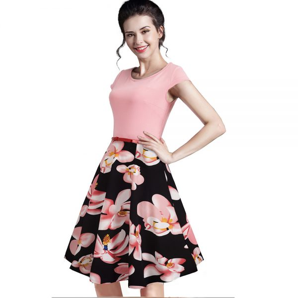 Summer Floral Dress Casual Stylish