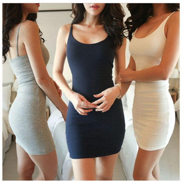 Sexy Backless Basic Dresses