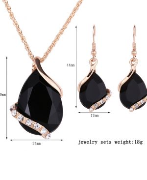 Crystal Earrings Necklaces