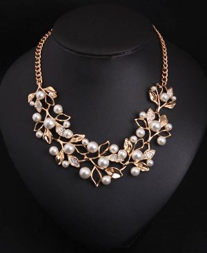 Simulated Pearl Necklaces
