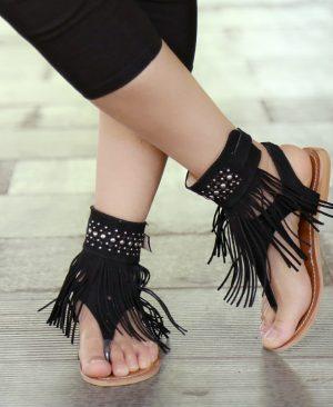 Flat Sandals Tassel