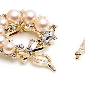 Pearl Brooch Pin