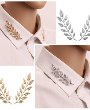 Leaf Pins Brooches