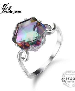 Fire Mystic Topaz Ring