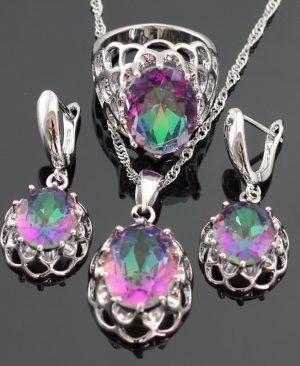 Zirconia Jewelry Sets